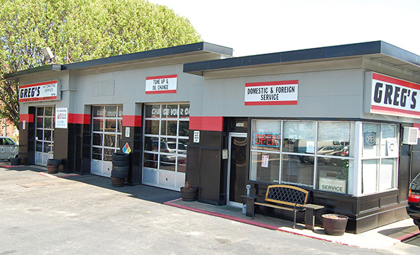 Greg's Automotive garage